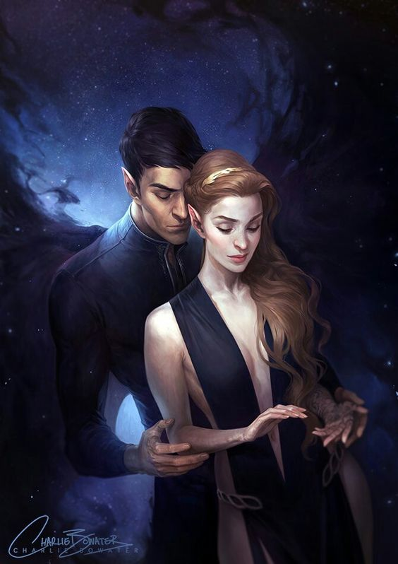 A Court of Mist and Fury inspired fanart by Charlie Bowater.   Seriously amazing: