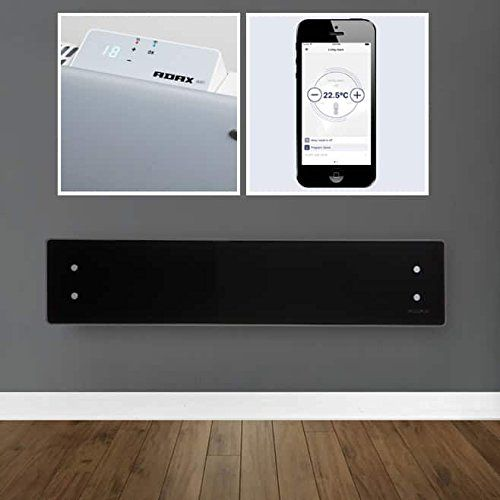 Adax Clea Wifi Smart Electric Panel Heater Wall Mounted With
