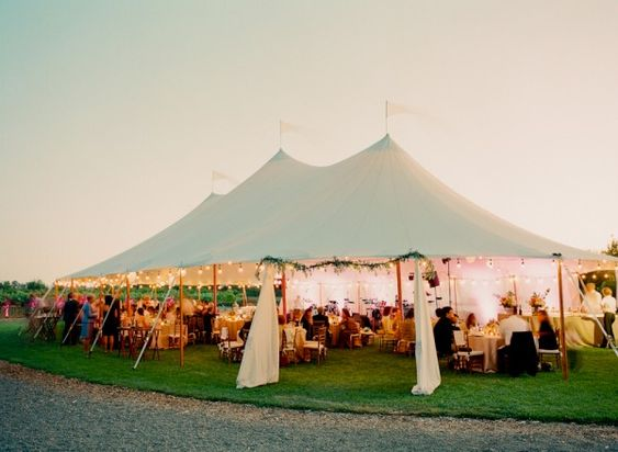Candlelit Wedding Tent | Photography by http://lisalefkowitz.com/