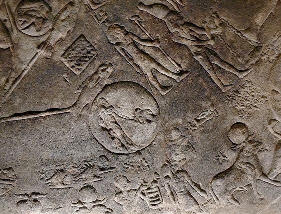 El zodiaco de Dendera, eclipse solar del 7 de marzo del 51 a. C.