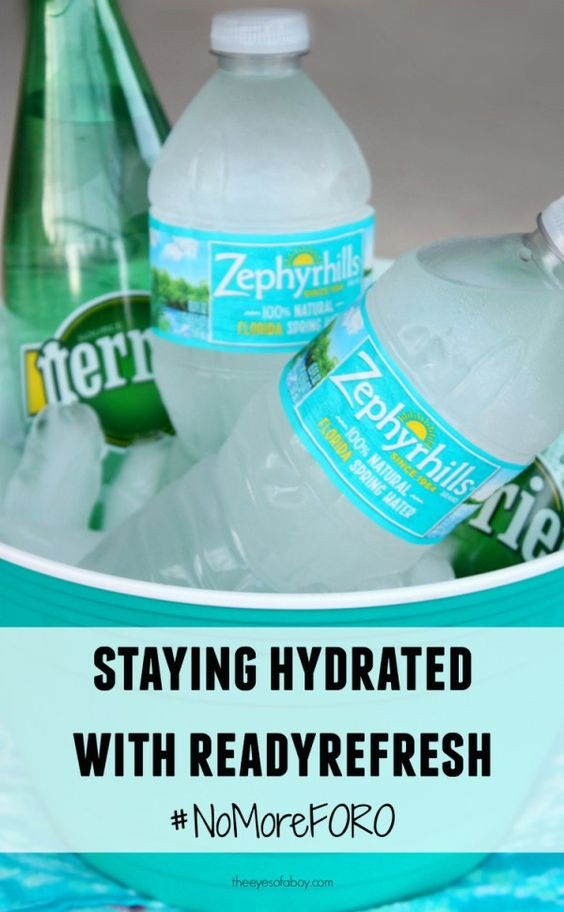 staying hydrated with readyrefresh - love this amazing delivery service! #nomoreforo #ad