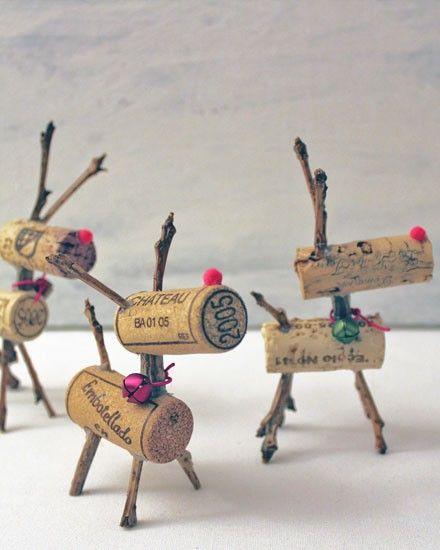 Shake My Blog   Des rennes avec des bouchons de liège