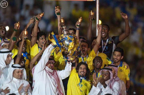ALNASSR FC KSA League champion 2014/2015