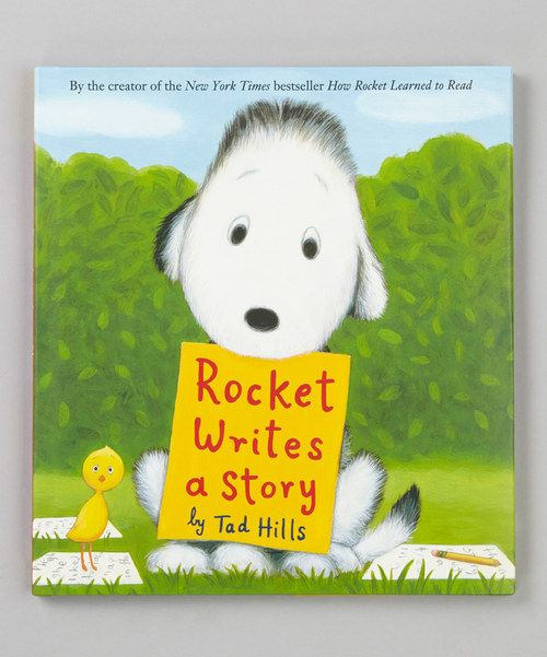 Rocket Writes a Story Hardcover One we haven't read but I'm sure we'd love