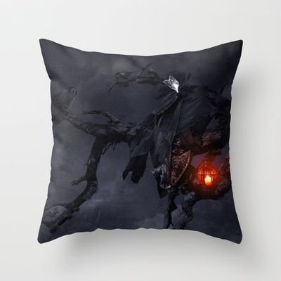 Isolation Throw Pillow by Alexandra V Bach - $20.00