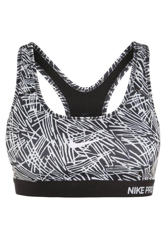 Bester Support für dein Training! Nike Performance PRO CLASSIC - Sport-BH - black/white für 39,95 € (30.04.16) versandkostenfrei bei Zalando bestellen.