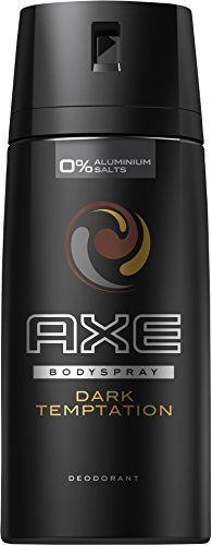 Axe Déodorant Homme Spray Dark Temptation 150ml – Lot de 3