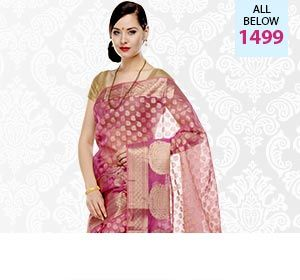 Bunkar: Banarasi Sarees | I found an amazing deal at fashionandyou.com and I bet you'll love it too. Check it out!