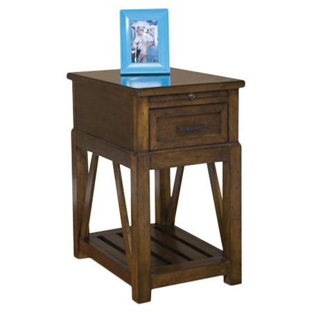 Eco Jack End Table in Brown I by Panama Jack Outdoor