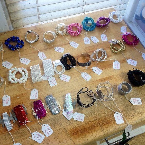 #prom wristlets