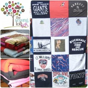 {How To} Memory Quilt - It's a Wrap!  Final wrap up on how to make a memory quilt.