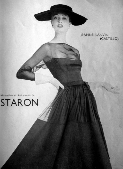Fashion by Lanvin, La Femme Chic, 1956.