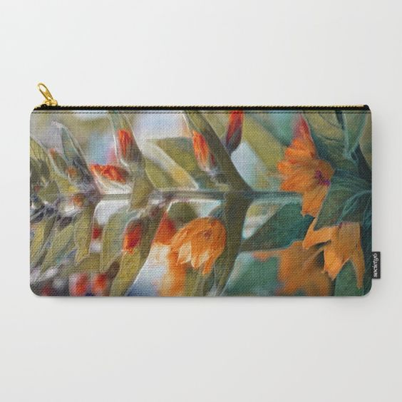 Wild flowers (sunny). Carry-All Pouch