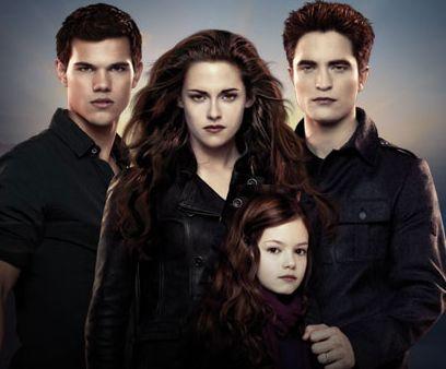 Jacob, Bella, Renesmee and Edward - Breaking Dawn Part 2 ...