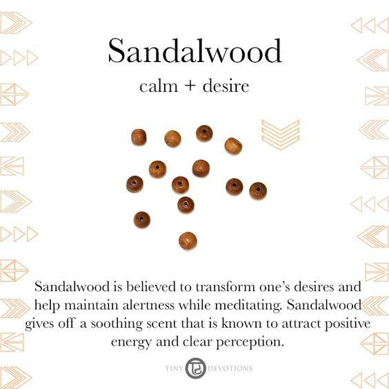 Sandalwood | Gemstones & Sacred Materials | Tiny Devotions | Mala Beads
