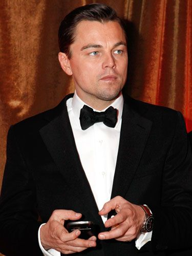 Though Leo didn't receive a Best Supporting Actor win for his powerful performance in Django Unchained, he certainly was a top contender for the best dressed male at the Golden Globes in this classic tuxedo. How dreamy!