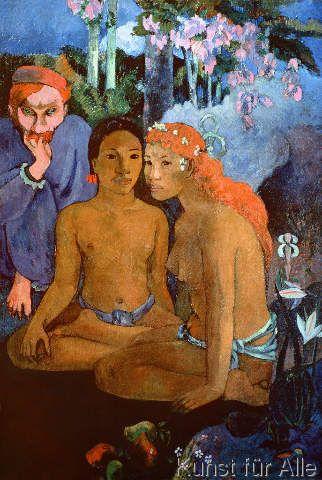 Paul Gauguin - Contes Barbares, 1902