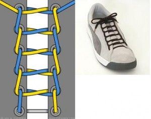 20 Amazing Ways to Lace Your Sneakers