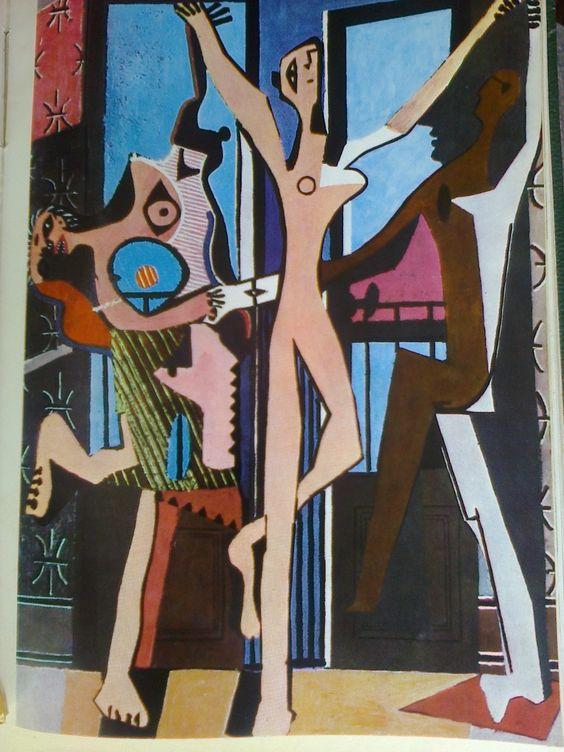 """""""Los tres bailarines"""" Picasso"""