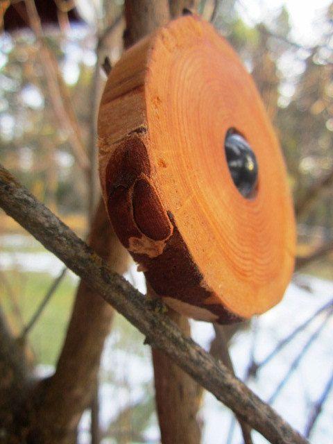 Rustikale Holz hängende Ornamente rustikale von BearlyInMontana