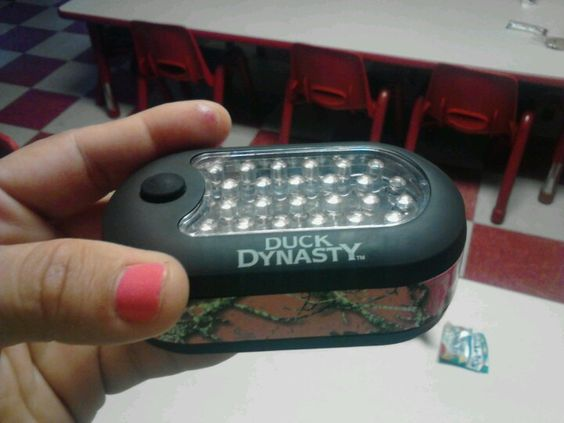 My new flash light.