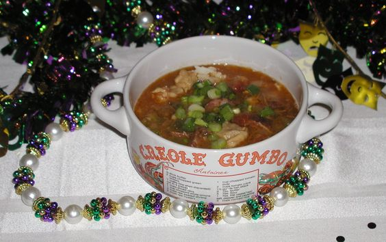 Just about every Louisiana kitchen has its version of the soup/stew called gumbo.