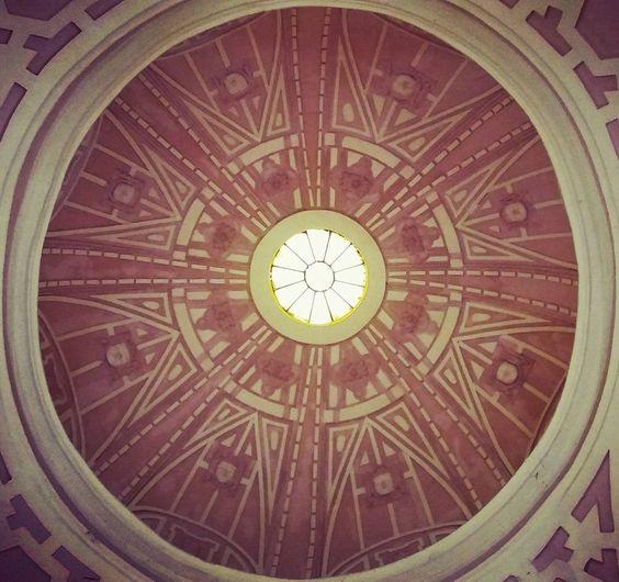 Una de las cúpulas de la iglesia de La Merced ubicada en el Jirón de la Unión. #limalaunica by limalaunica
