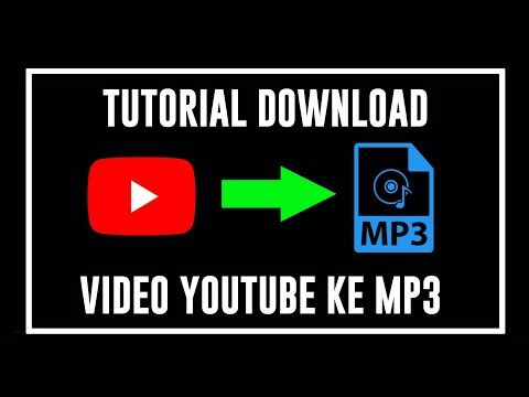 Ainurrofiq Channel Cara Download Video Youtube Ke Mp3 Tutorial Con