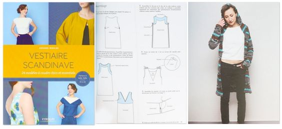 vestiaire scandinave 24 mod les coudre chics et essentiels assaisonnement chic et haute. Black Bedroom Furniture Sets. Home Design Ideas