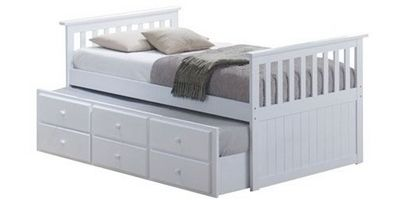 Trundle Single Bed
