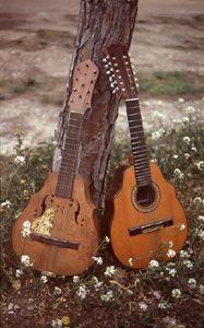 laudes con clavijas de madera y clavijero mecanico