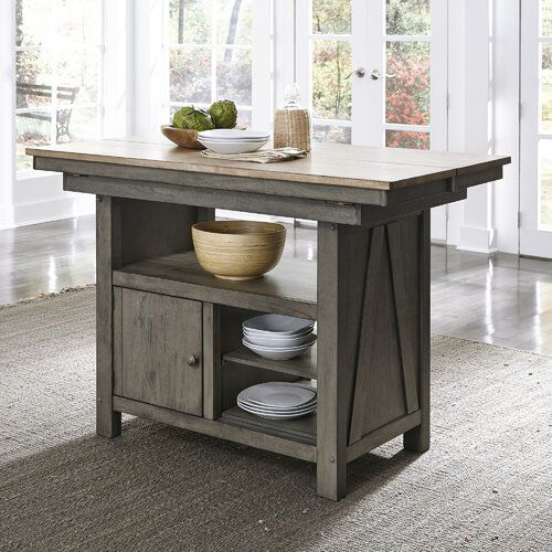 Kruger Kitchen Island Kitchen Island With Drawers Rustic