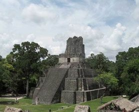 Temple in the Kingdom of Tikal, one of the most prominent of the Classic Period