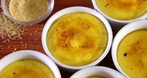 Leite-creme de limão e hortelã
