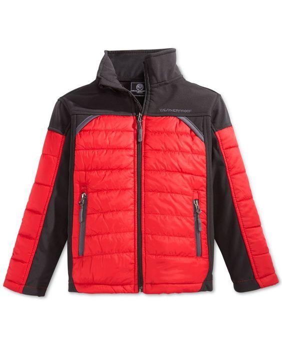Weatherproof Boys' Softshell Jacket