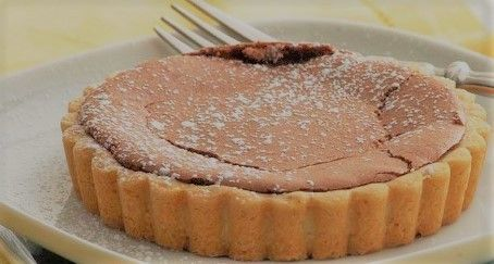 Tantalizing Chocolate Tartlets with Butter Orange Cookie Crust