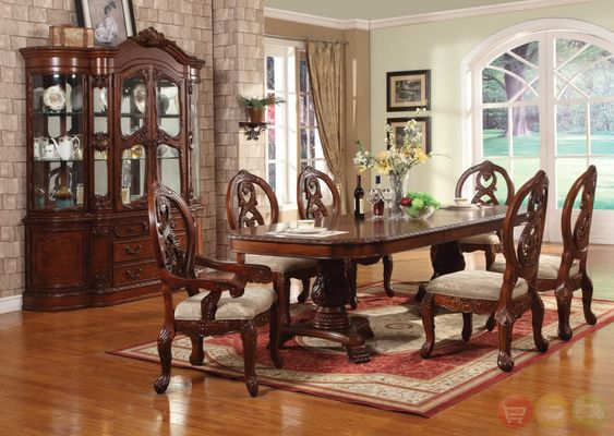 Cherry Dining Room Set Design Home design ideas picture gallery