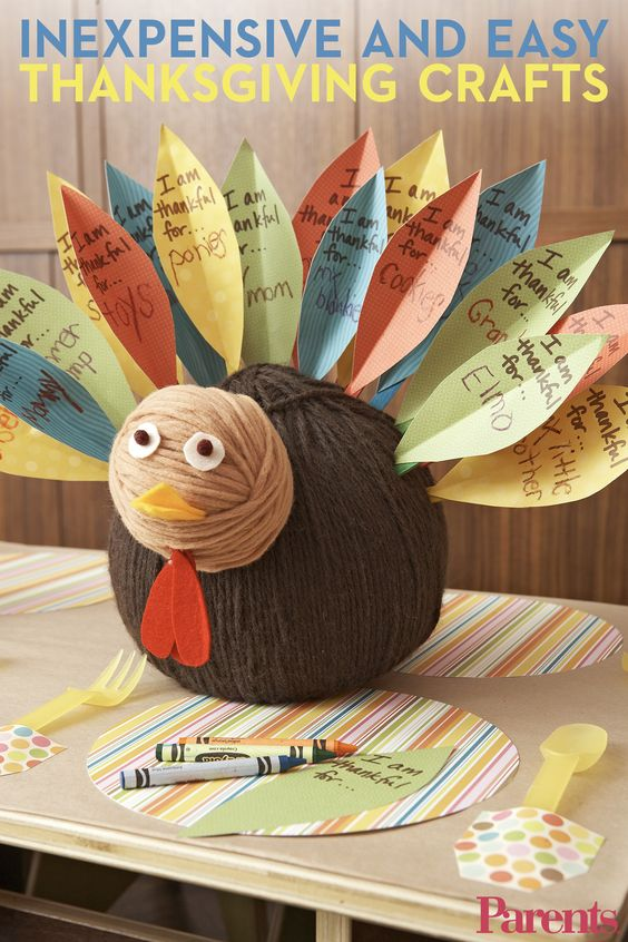 Let's talk turkey! Try these 19 festive crafts for kids of all ages to prepare for #Thanksgiving.
