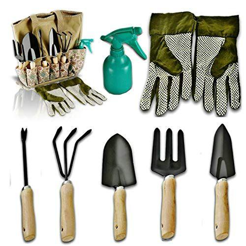 Scuddles Garden Tools Set 8 Piece Heavy Duty Gardening Tools