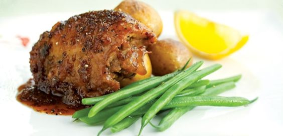 Saucy Lemon Chicken - Family-friendly weeknight meal sweetened with maple syrup, alive.com