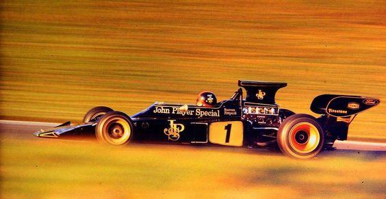 Emerson Fittipaldi Lotus 72 1973
