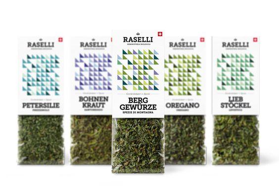 Raselli Orgánica Hierbas y flores por Plasmadesign Estudio