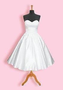 Tea Length Wedding Dress | eBay