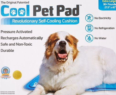 The Green Pet Shop Self Cooling Pet Pad X Large Chewy Com