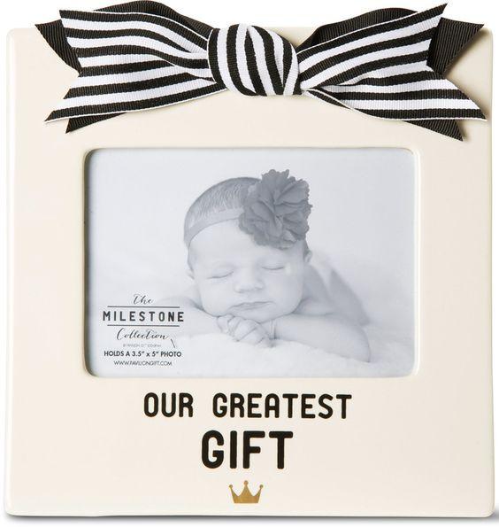 Newborn Baby Ceramic Picture Frame