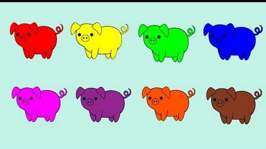 11 best Learn Colors For Kids images on Pinterest | Kids, Youtube ...