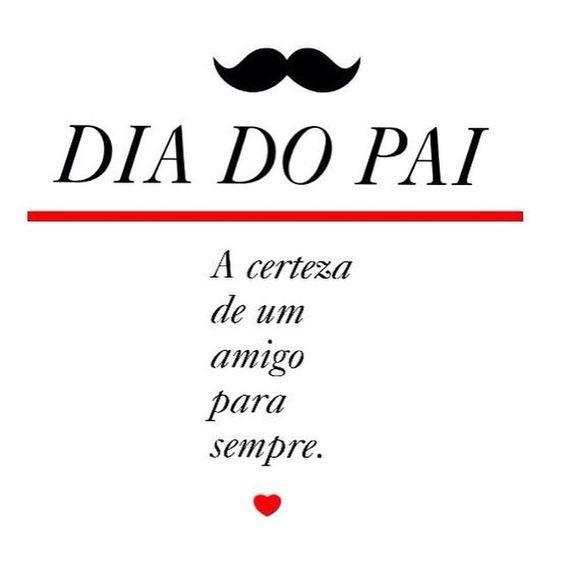 happy fathers day! Feliz dia do pai