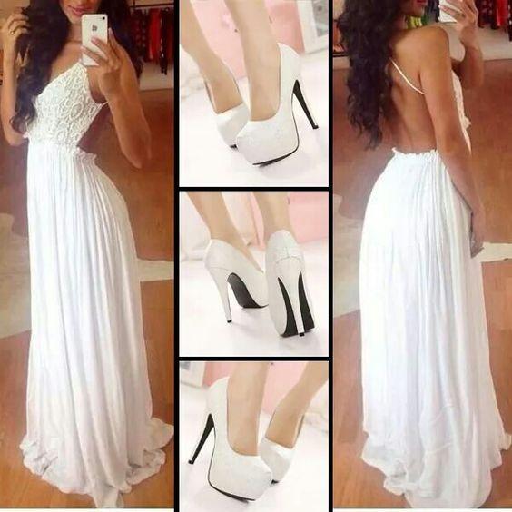 I love the dress!