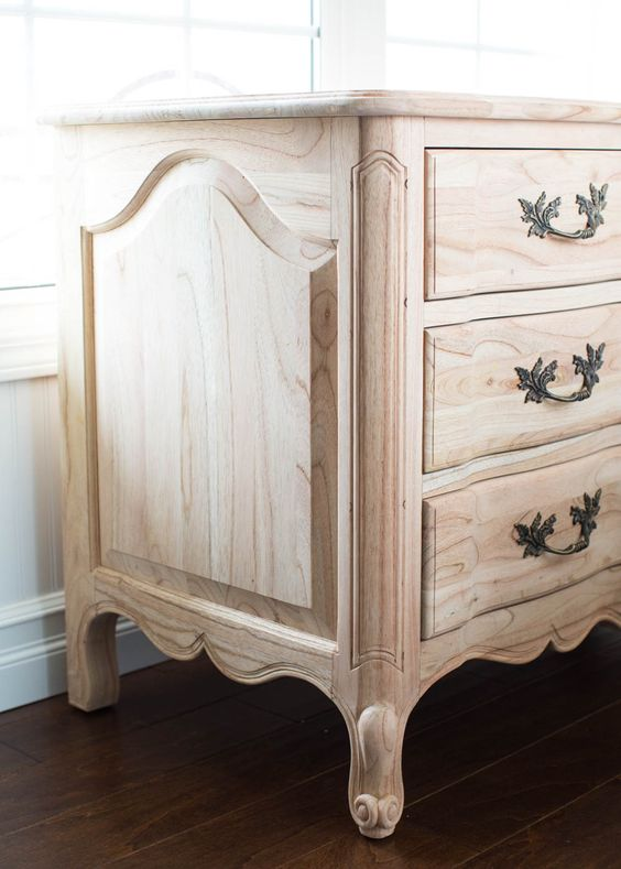 The beautiful details of the Genevieve Dresser from the AVE Raw Collection from Ave Home | I Heart Naptime