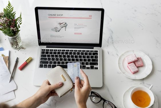 Shopping Online Technology Commercial Buying Concept by Rawpixel. Shopping Online Technology Commercial Buying Concept